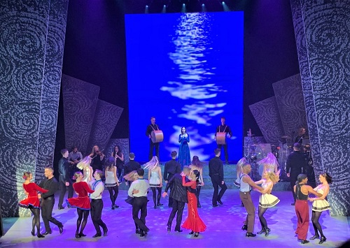 Riverdance at Gaiety Theater in Dublin, Ireland