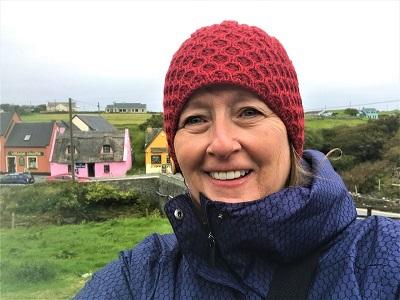 Vicki enjoy Doolin, Ireland